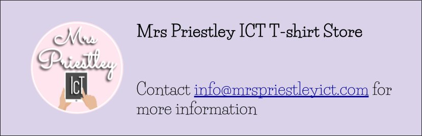 Mrs Priestley ICT Canvas Bag
