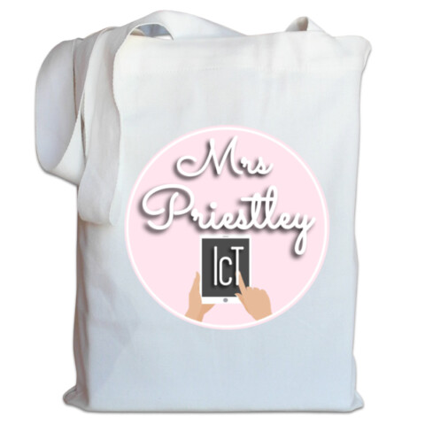 Mrs Priestley ICT Canvas Bag - Mrs Priestley ICT